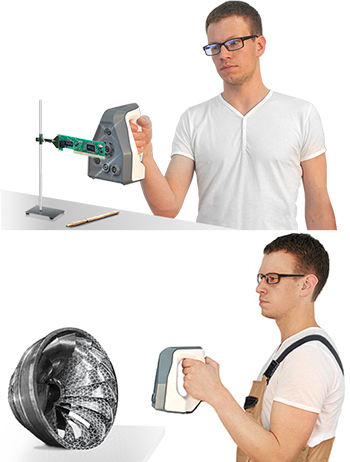 3Dプリンター用ハンディスキャナー
