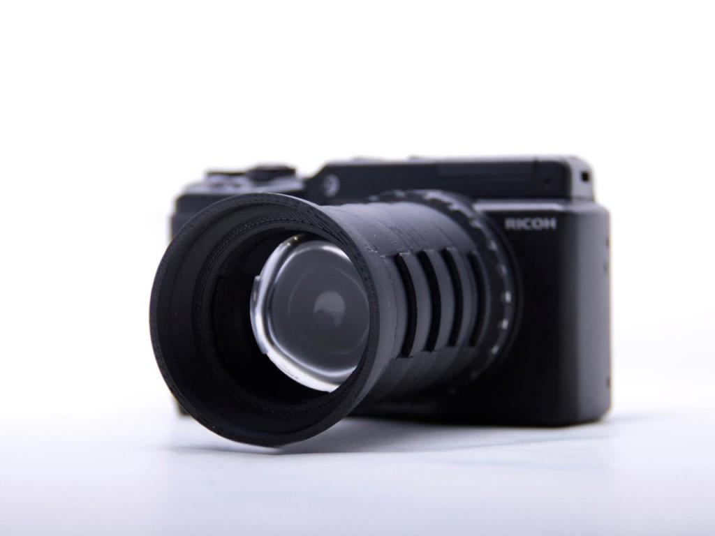 3Dプリントのカメラ
