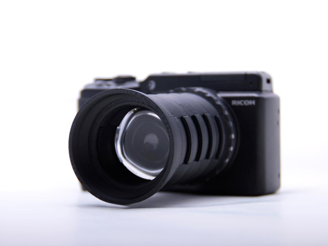 3Dプリンターで作ったカメラで写真がとれます。