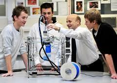 3Dプリンター課程の導入
