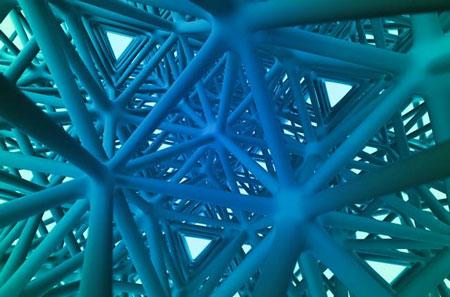 強靭な3D印刷用素材が開発され、通常の1万倍の強度をもちます。
