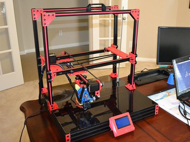 大型の高性能3Dプリンター