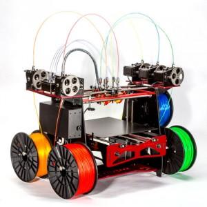 五色同時利用可能な3Dプリンター