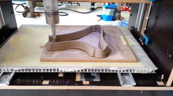 粘土をつかった3D印刷技術が誕生しました