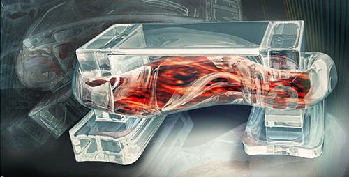 人工筋肉で動くマッスルロボットを3Dプリンターで印刷する