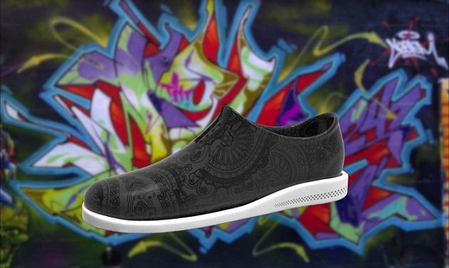 3Dプリンターのファッショナブルな靴