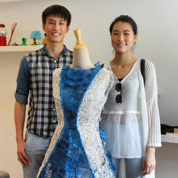 3Doodlerでデザイナーによってつくられた新しい装い