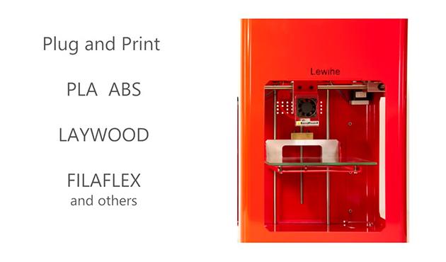 新素材の利用ができる個人用3Dプリンター