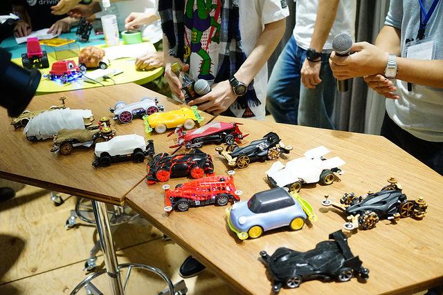 3Dプリントによる4WDレーシング