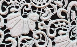 3D印刷によるレース生地