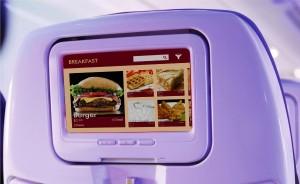 航空機の長時間の旅の疲れを癒す、3Dプリンターによる機内食の提供