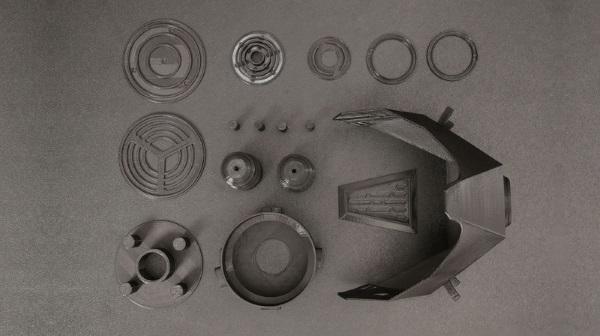 3Dプリントによるガスマスク