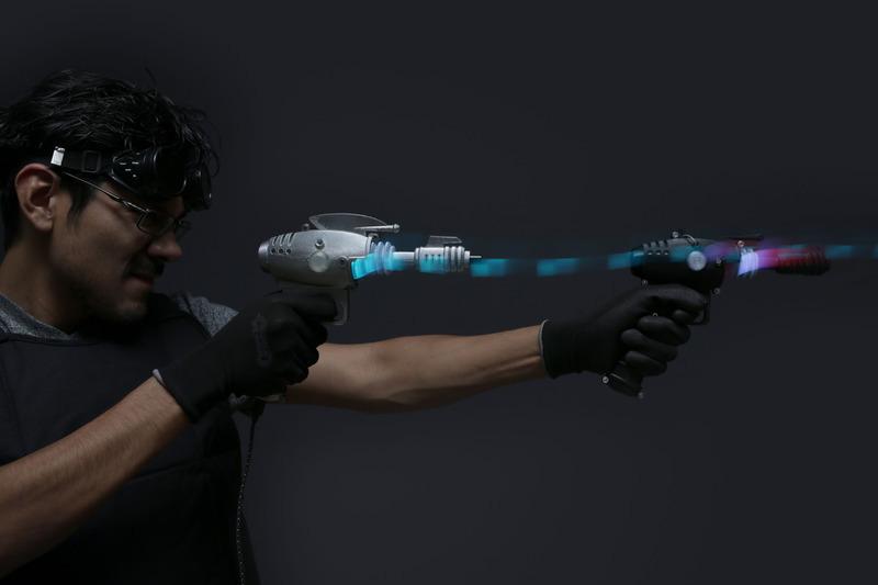 3Dプリントで制作された光線銃