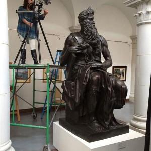 ミケランジェロの彫刻の3Dスキャン