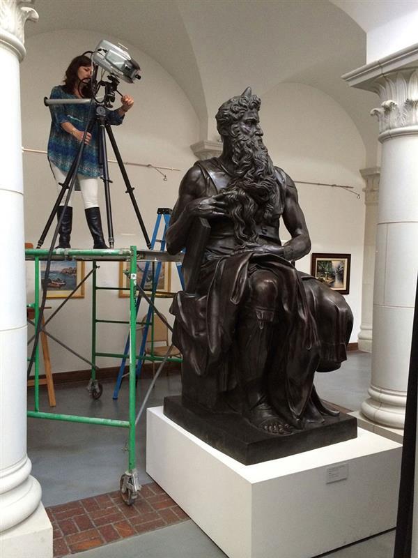 ミケランジェロの彫刻を3Dスキャンして再生、復元する技術