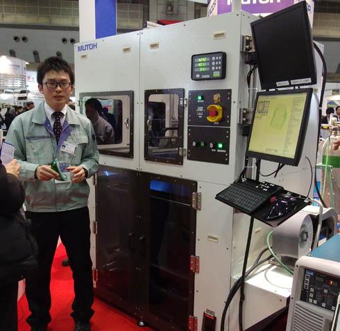 アーク金属溶接3Dプリンター