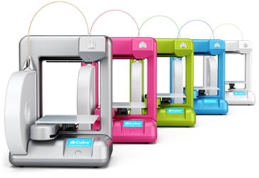 5色展開の3Dプリンター
