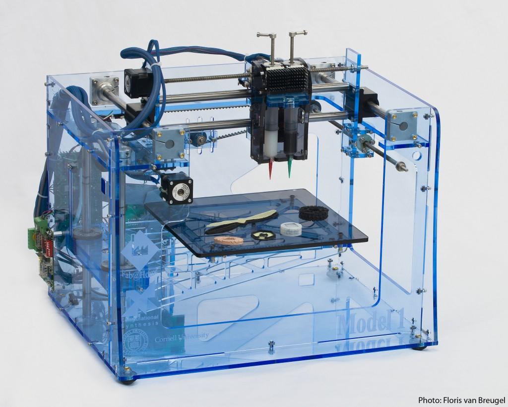 透明の3D-Printer