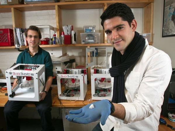 デスクトップ3Dプリンター、BioBotsで人工細胞を印刷する