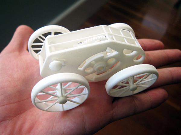3Dプリンターで、様々なおもちゃを創造する
