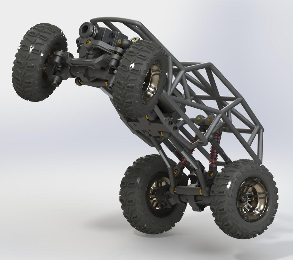 3Dプリント車