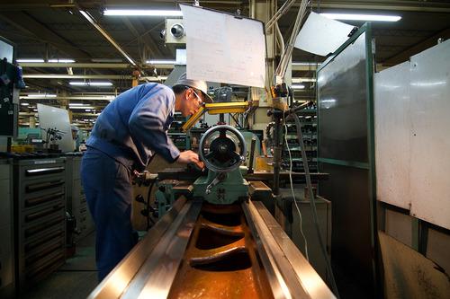 刈羽工場の熟練工
