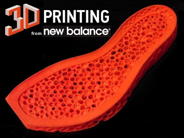 3Dプリントのnewbalance