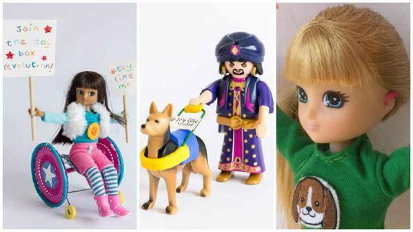 障害を持つ子のためのお人形