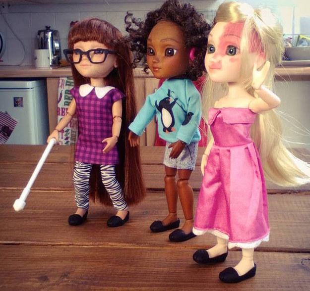 イギリスの玩具会社Makielabが、3Dプリントされた障害を持った子どものお人形を販売