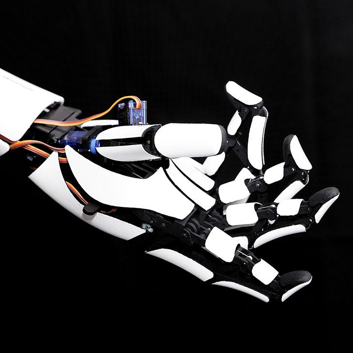 3Dプリンターによる義手
