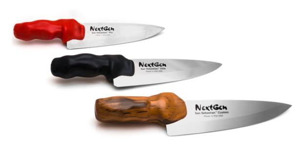 3Dプリントの使いやすいシェフナイフ