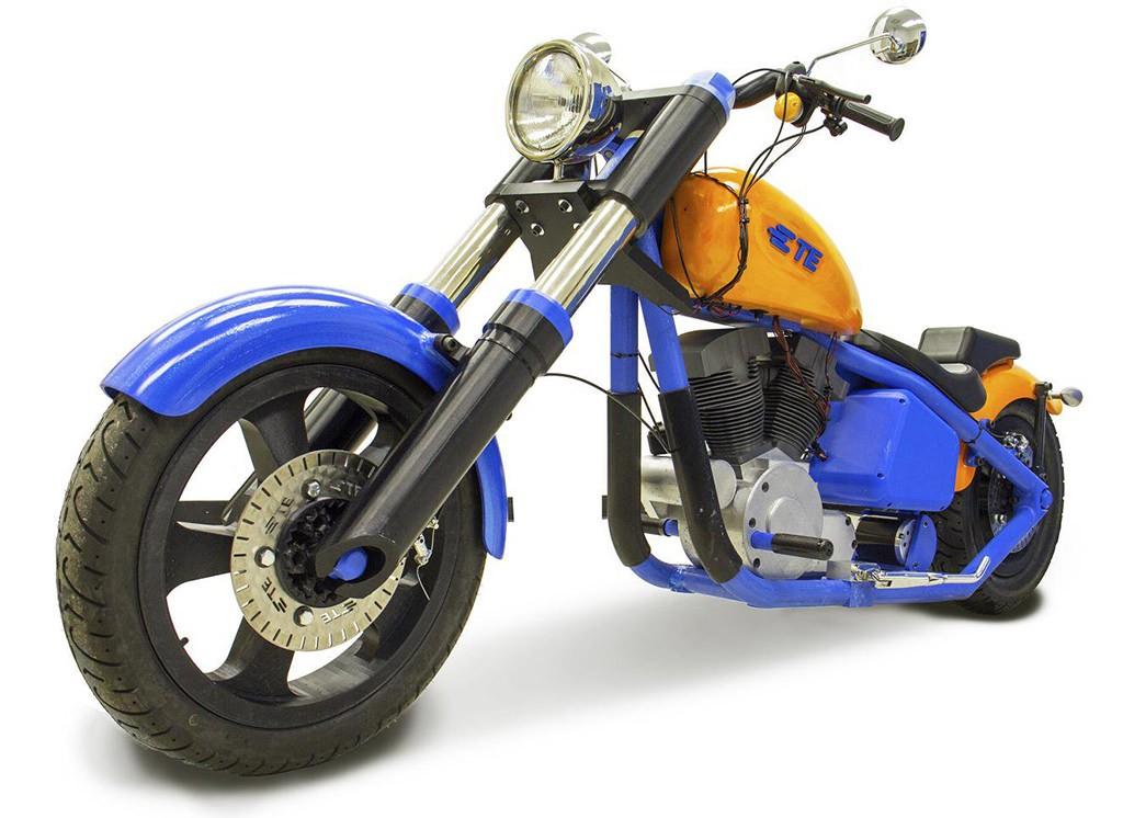 3d-printedバイク