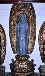 盗難防止用仏像