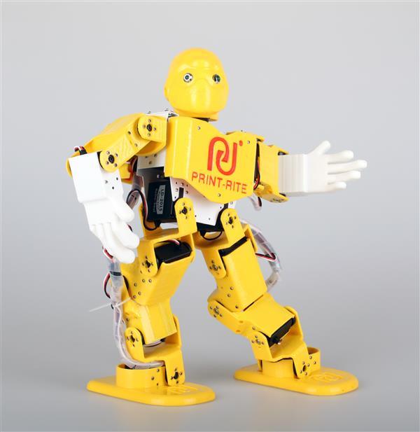 3Dプリントされた、ダンシングロボット