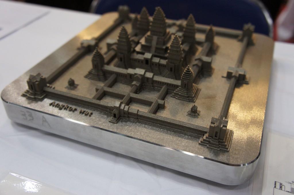 白銅 株式会社ブース(3Dプリンタの未来)
