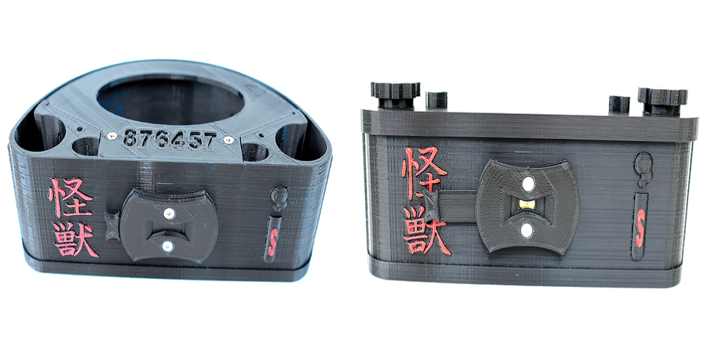 日本の怪獣映画に影響され作られた、簡易ピンホールガメラというカメラ