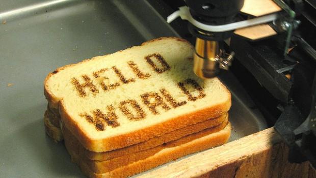 食品を3Dプリントできる時代です。3Dフードプリント。