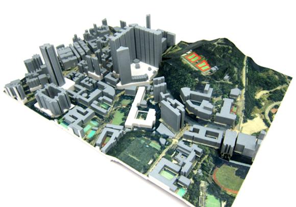 フルカラー立体模型
