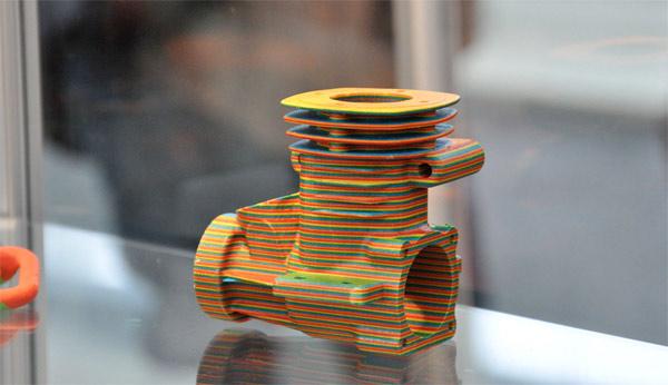 紙素材造形物
