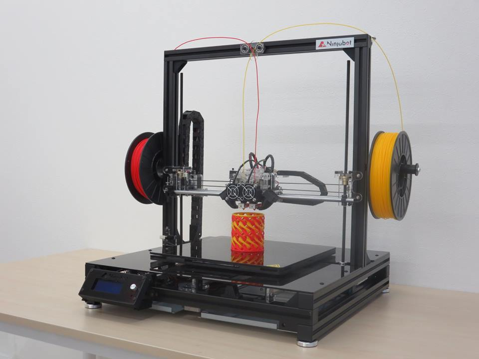 国産3Dプリンターニンジャボット新製品発売
