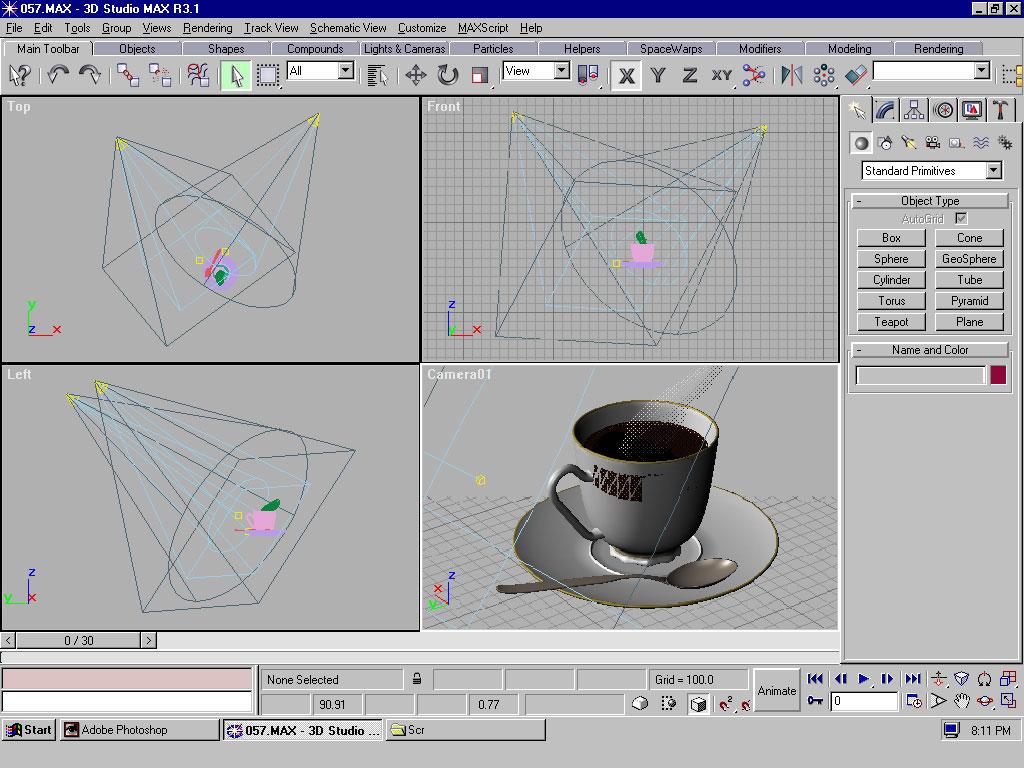 3Dプリントの3DSTUDIOで初めての3Dプリント造形をためそう。