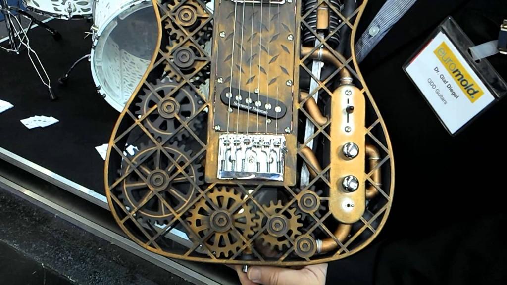 3Dプリントギター