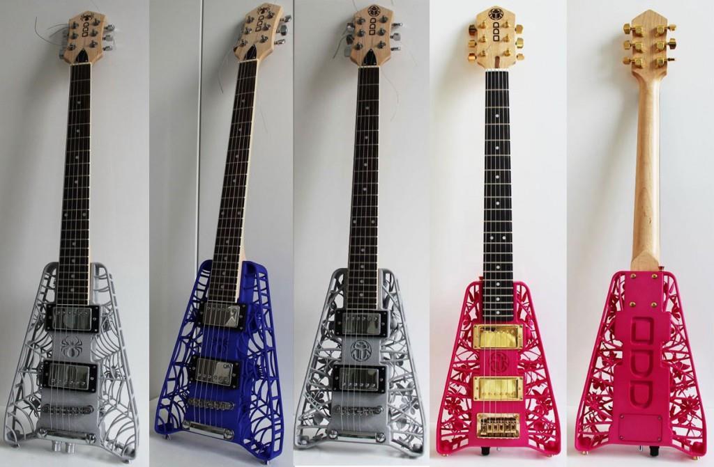 3Dprintギター