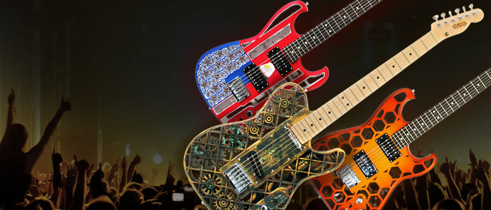 ODD3Dプリントギター