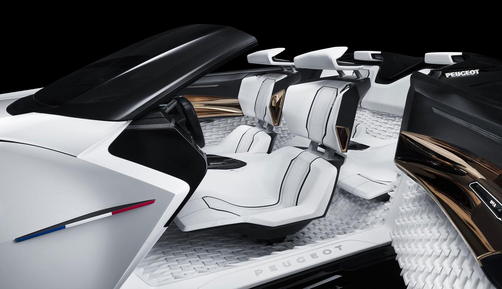 プジョーのコンセプトカー、『フラクタル』が3Dプリント技術を大胆に採用