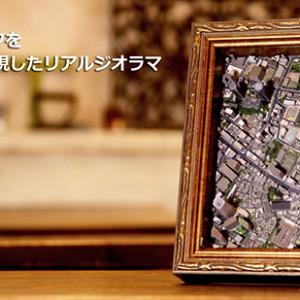 3Dジオラマ「3D Print Maps」