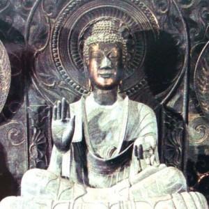 法隆寺釈迦三尊像