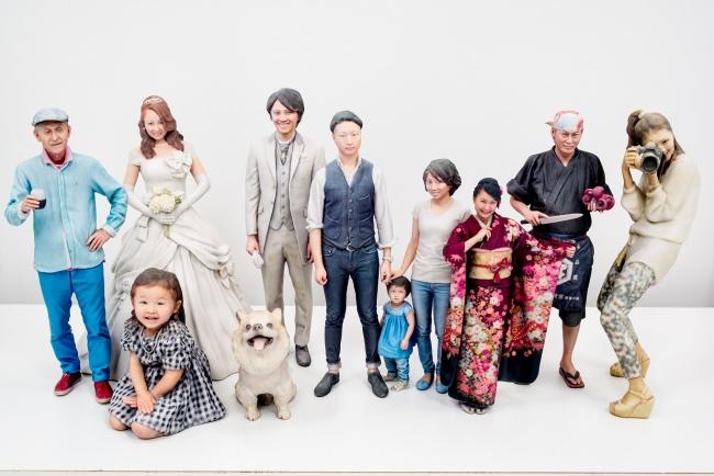 三越日本橋本店新館に3Dフィギュア撮影スタジオ