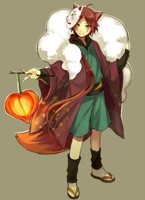 キャラクターデザイン最優秀賞:橘さんの「妖狐」