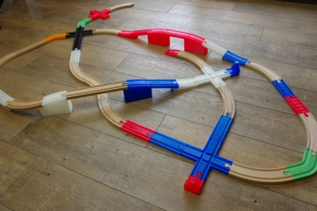 3Dプリンターで製作する線路のおもちゃの新ブランド「ワンレール」